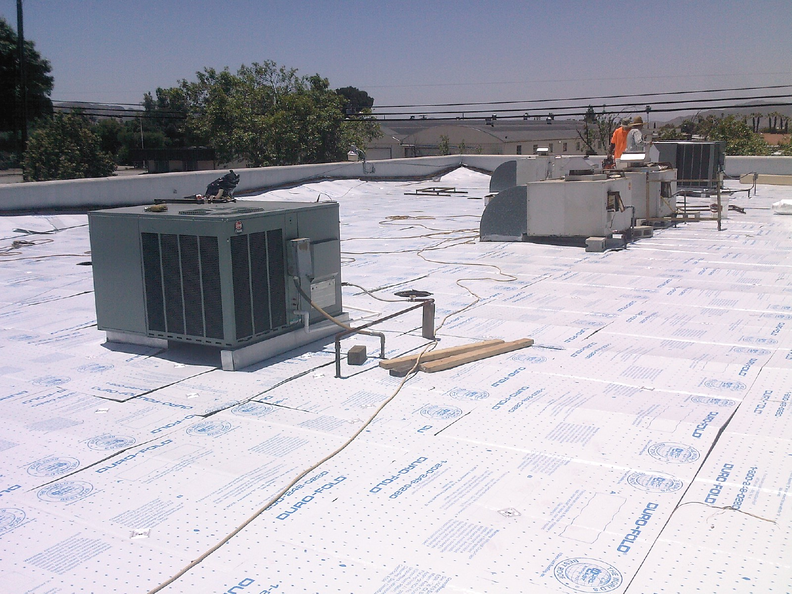 Low Slope Roofing for Flat Roofs | Commercial and ...