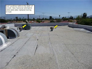 Commercial Building Re Roof In Hemet Ca Woolbright S