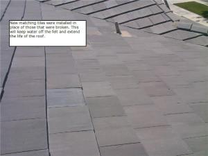 Installing Matching Tiles