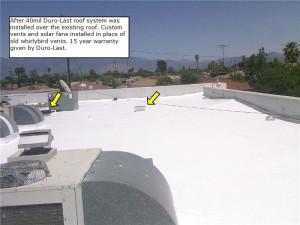 Commercial Building Re Roof In Hemet Ca Woolbright S
