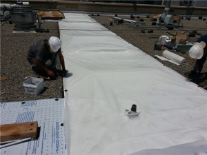 7. Comercial Re-roof in Progress  City of Hope
